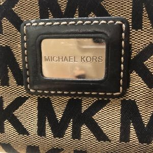 Authentic Micheal Kors Navy Blue Wallet